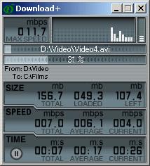 Screenshot für Download+